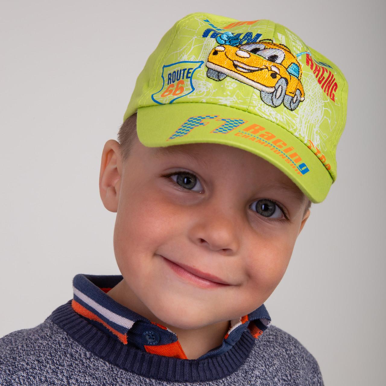 Летняя кепка для малышей - Машинка (к12)