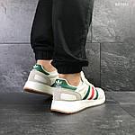 Мужские кроссовки Adidas Iniki (белые), фото 2