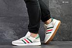Мужские кроссовки Adidas Iniki (белые), фото 4