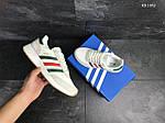 Мужские кроссовки Adidas Iniki (белые), фото 5