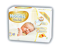 Подгузники HUGGIES elit soft 1 (2-5 кг) 27 шт