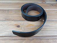 Полоса ременная Искусственная кожа цвет черный 120*36*4 мм