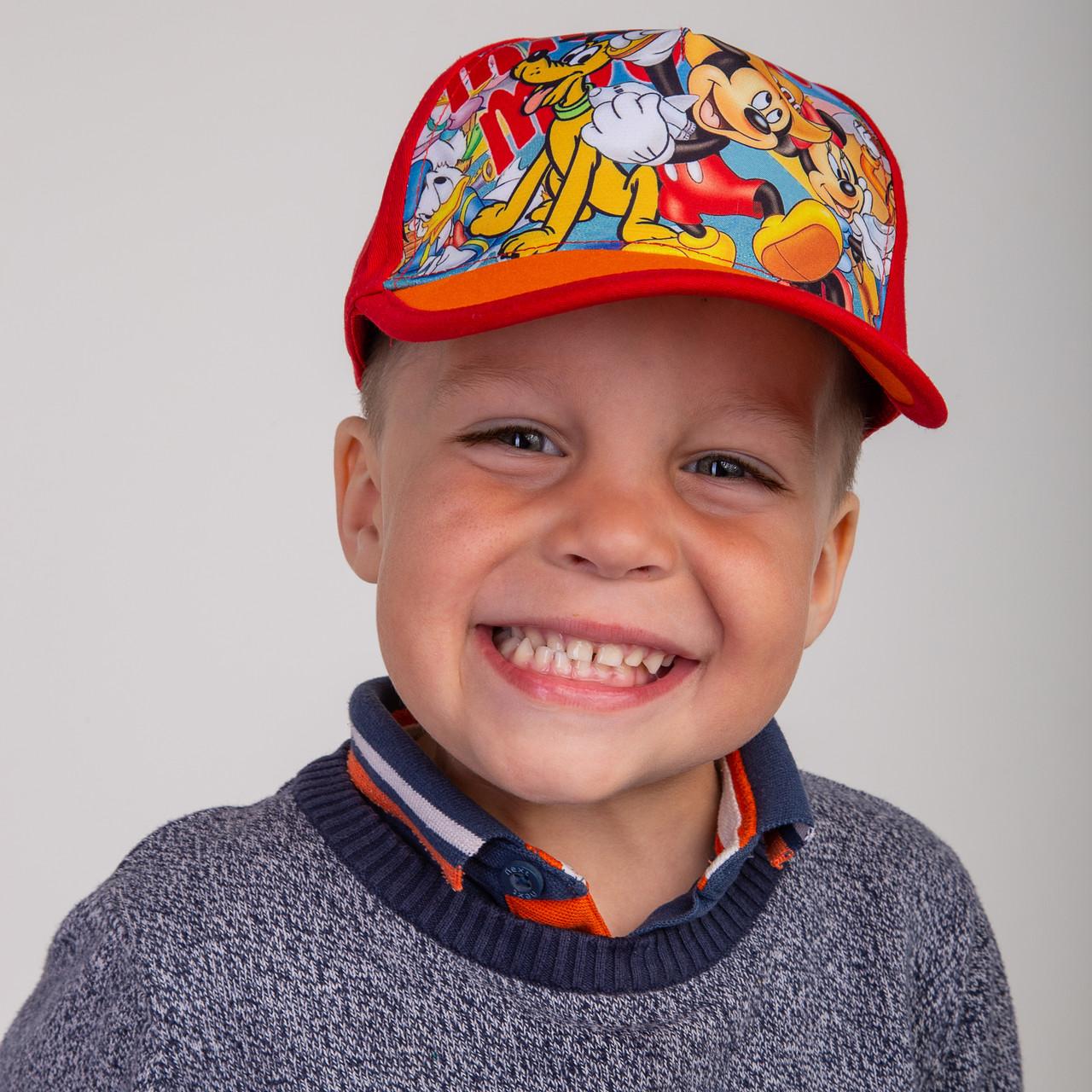 Летняя кепка для мальчика - Микки Маус (к6)