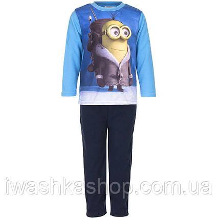 Флисовая пижама Миньоны, Minions на мальчика 6 лет, р. 116,  Despicable Me / Sun City
