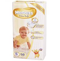Подгузники HUGGIES elit soft 5 (12-22 кг) 56 шт