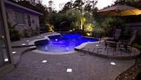 Подсветка фонтана и бассейна  300 ламп 5 м  5-12 в герметичная в комплекте с блоком питания контролером