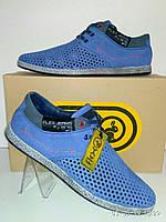 Повседневные летние туфли мужские от фирмы Flex.