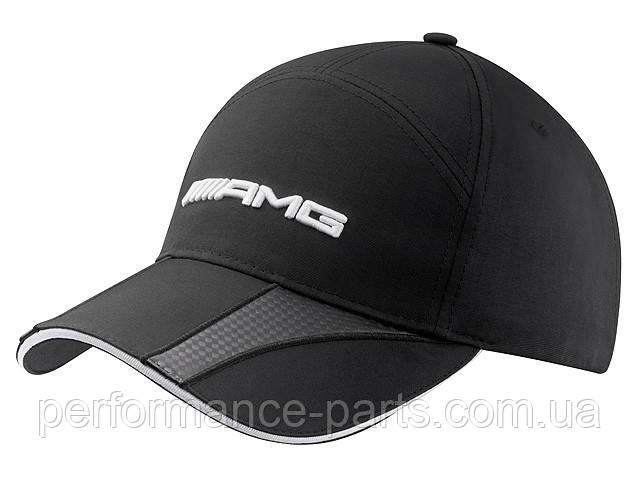 Мужская бейсболка Mercedes-Benz Men's cap, AMG, Carbon fibre-look details, артикул B66952706