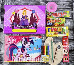 """Подарочный набор для девочек """"Принцессы """" 39 предметов  0039-D"""