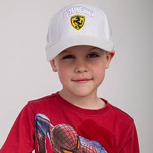 Льняная кепка для мальчика на лето - Ferrari(к4)