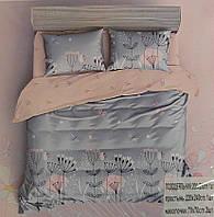 Комплект постельного белья Евро Koloco (BС-0012)