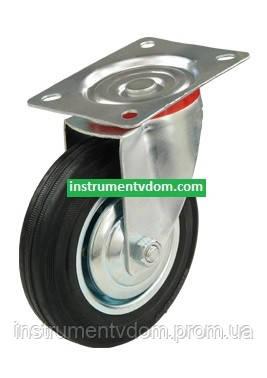 Колесо 520200 с поворотным кронштейном (диаметр 200 мм)