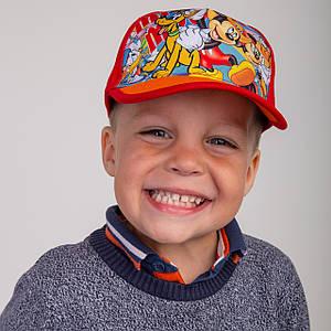 Летняя кепка для мальчика оптом - Микки Маус(к6)