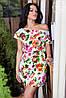 Стильное женское платье 145 гл $