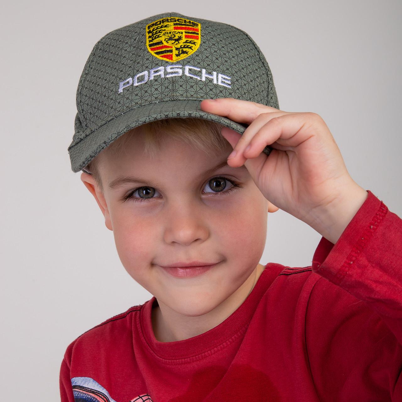 Стильная летняя кепка для мальчика - Porsche(к7)