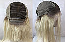 Парик из натуральных волос каре с отросшими корнями, фото 6