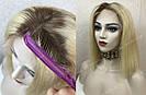 Парик из натуральных волос каре с отросшими корнями, фото 7