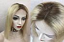 Парик из натуральных волос каре с отросшими корнями, фото 9