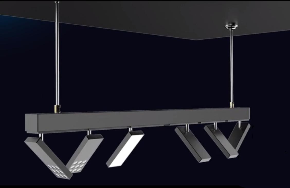 Светодиодная трековая система освещения на магнитах 1000мм