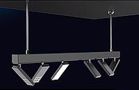 Светодиодная трековая система освещения на магнитах 1000мм, фото 1