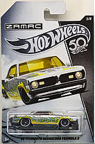 Машинка серия Zamac 50-ти летие Hot Wheels Plymouth Barracuda Formula