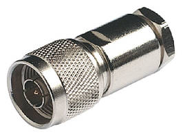 Штекер RA158 N-Male с никелевым покрытием для кабеля RG213/U