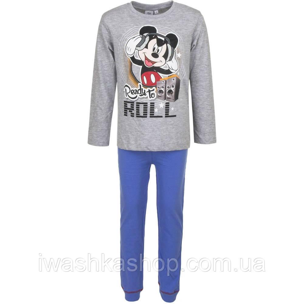 Хлопковая пижама с Микки Маусом, Mickey Mouse на  мальчика 3 лет, р. 98, Disney
