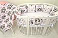 Круглая кроватка трансформер Baby-Sleep 12в1, Maxi + ящики, фото 3