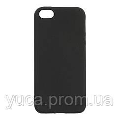 Чехол силиконовый для APPLE 5G Joy чёрный