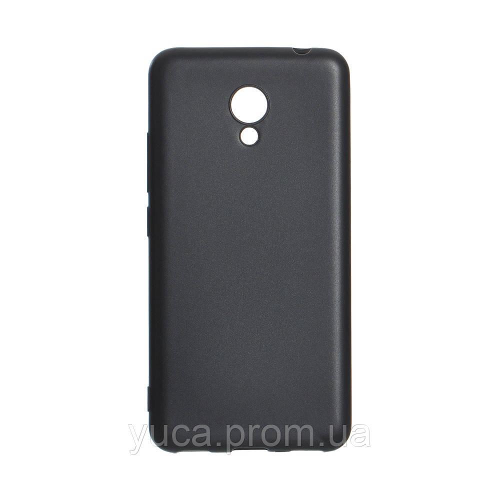 Чехол силиконовый для MEIZU M5c Joy  чёрный