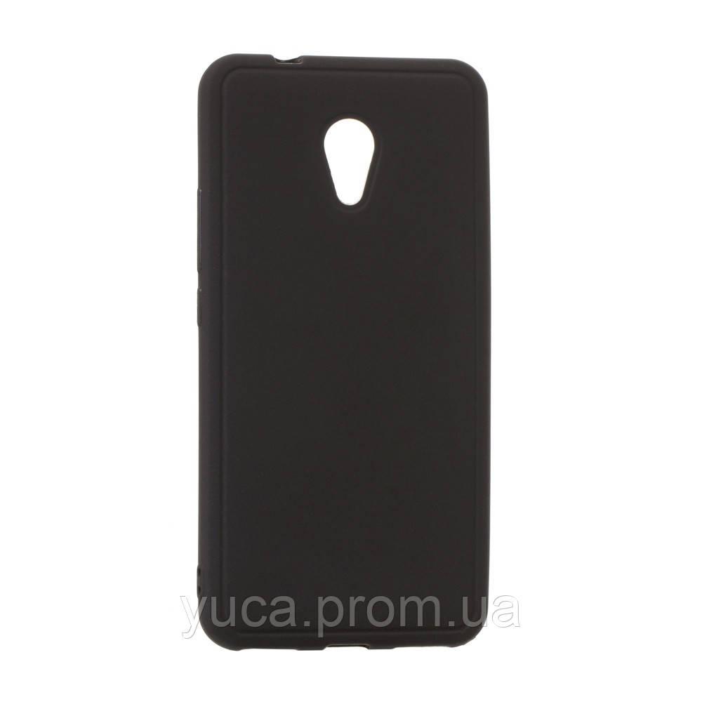 Чехол силиконовый для MEIZU M5s Joy  чёрный