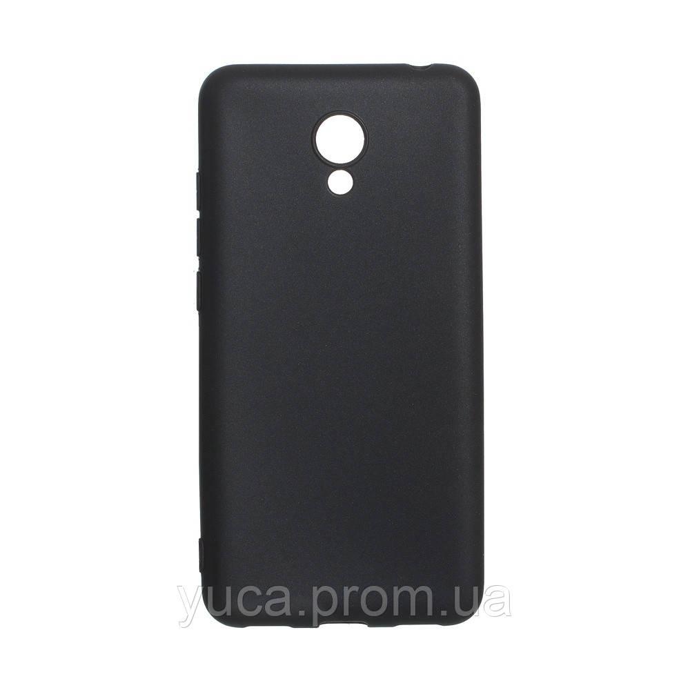 Чехол силиконовый для MEIZU M6 Joy  чёрный