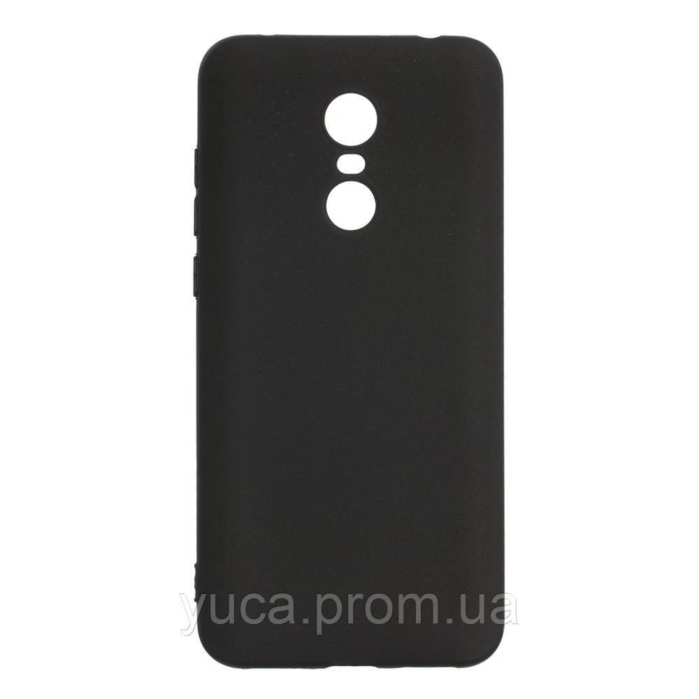Чехол силиконовый для XIAOMI Redmi 5+ Joy чёрный
