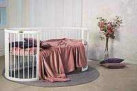 Овальная кроватка - трансформер 9-В-1 SMART BED ROUND