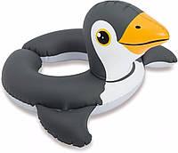 """Надувной круг для плавания  INTEX """"Пингвин"""" 51см, от 3 до 6 лет"""