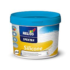 Силиконовая краска Helios Spektra Silicone 10л (Хелиос Спектра Силикон)
