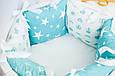 Бортики-подушки в детскую кроватку, фото 3