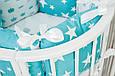 Бортики-подушки в детскую кроватку, фото 5
