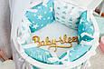 Бортики-подушки в детскую кроватку, фото 6