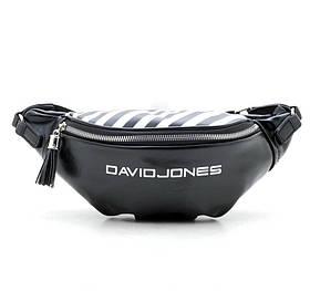 Сумка на пояс David Jones 5965-1/1 Чорна