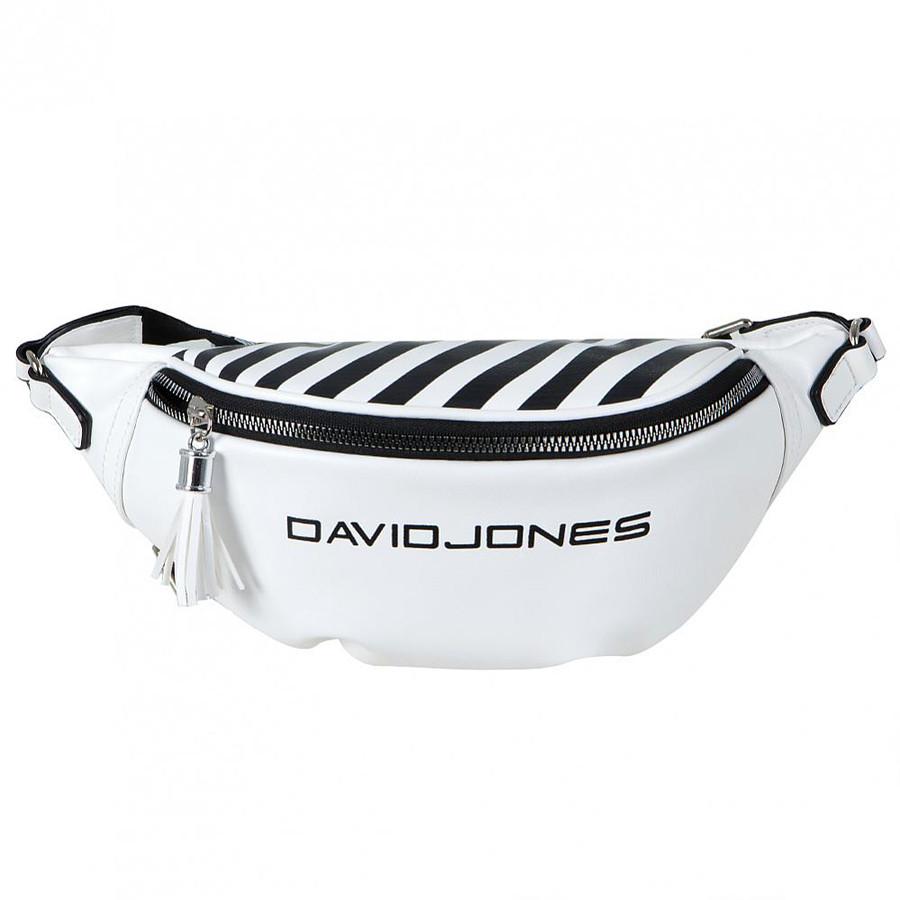 Сумка на пояс David Jones 5965-1/2 Белая
