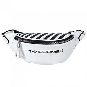 Сумка на пояс David Jones 5965-1/2 Біла