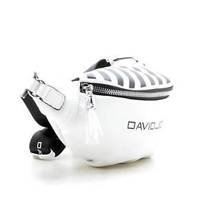 Сумка на пояс David Jones 5965-1/2 Белая, фото 2