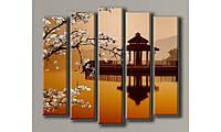 Модульная картина Китай-2 112х130 см (HAB-032)