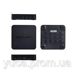 ТВ Приставка  MXQ-4K (Чёрный)