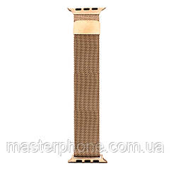Ремешок  Apple Watch Milanese loop 38 / 40mm (Тёмно-Золотой)