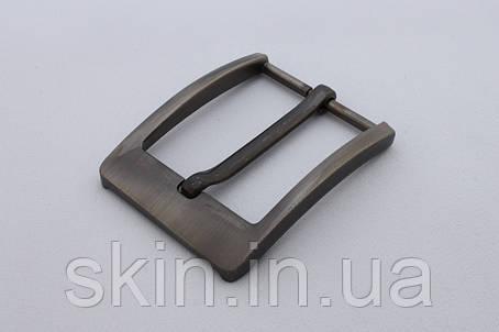 Пряжка ременная, ширина - 40 мм, цвет - серый, артикул СК 5395, фото 2