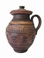 Кувшин Этно средний СК (Станиславcкая глиняная посуда)