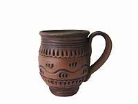 Чашка кофейная Этно (Станиславcкая глиняная посуда)