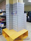 Эконом панели, экспо панели серая, шаг 100мм, 12 пазов, фото 5